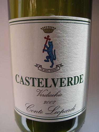 2007 Conte  #Leopardi  #Verdicchio Castelverde