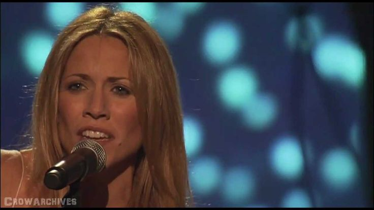 """Sheryl Crow - """"Strong Enough"""" - LIVE in NY 2005 (one of the best version..."""