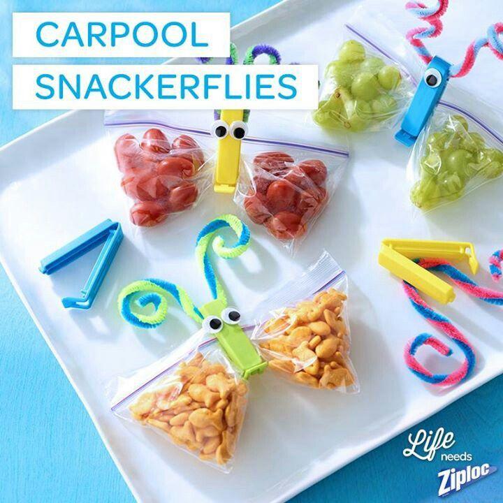 Snackerflies!! Such a cute idea.