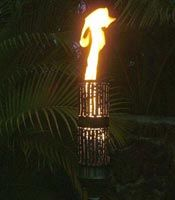 High Quality Modern Tiki Torches From Hawaii  http://tiki.beachsidelighting.com/