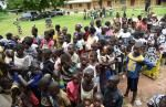 Children Of Africa vaccine 1.200 enfants et jeunes femmes contre la Fièvre Typhoïde à Fronan et Kanawolo