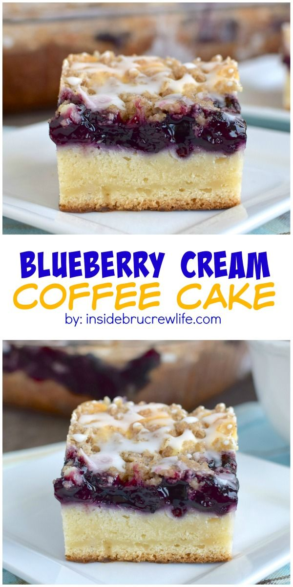 ... Cream Coffee Cake | Blueberry Cheesecake, Blueberries and Coffee Cake