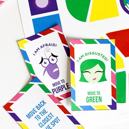 This Prinable Inside Out Board Game is ideal for younger kids that are still getting a grasp for what emotions are.