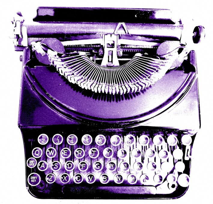 Purple typewriter- oh man I have been looking for an old fashioned one of these- but my ultimate favorite color purple?! Oh hell yeah!