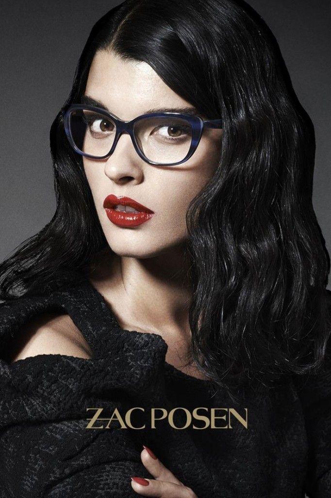 Crystal Renn For Zac Posen Eyewear Collection By Michael