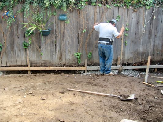 How do put a French drain around your yard. From Houselogic.com - http://www.houselogic.com/blog/drainage/digging-your-own-french-drain-save-money-and-your-back-these-tips