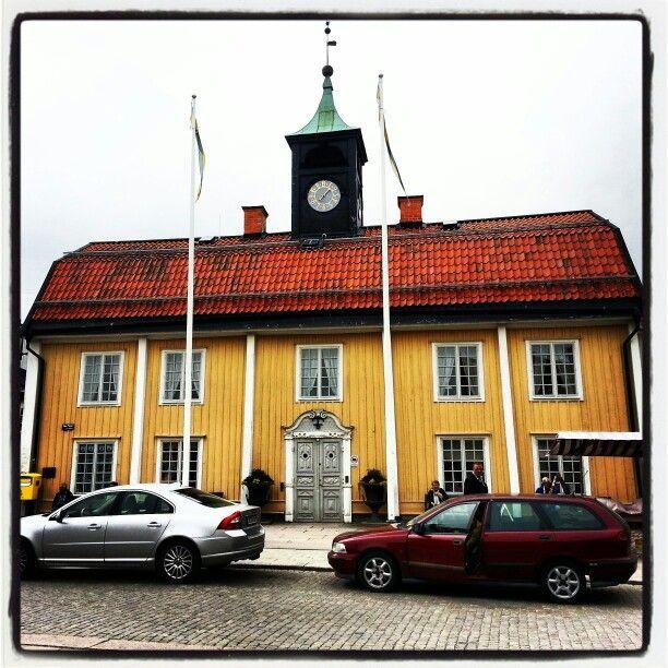 City hall of Norrtälje, Sweden.