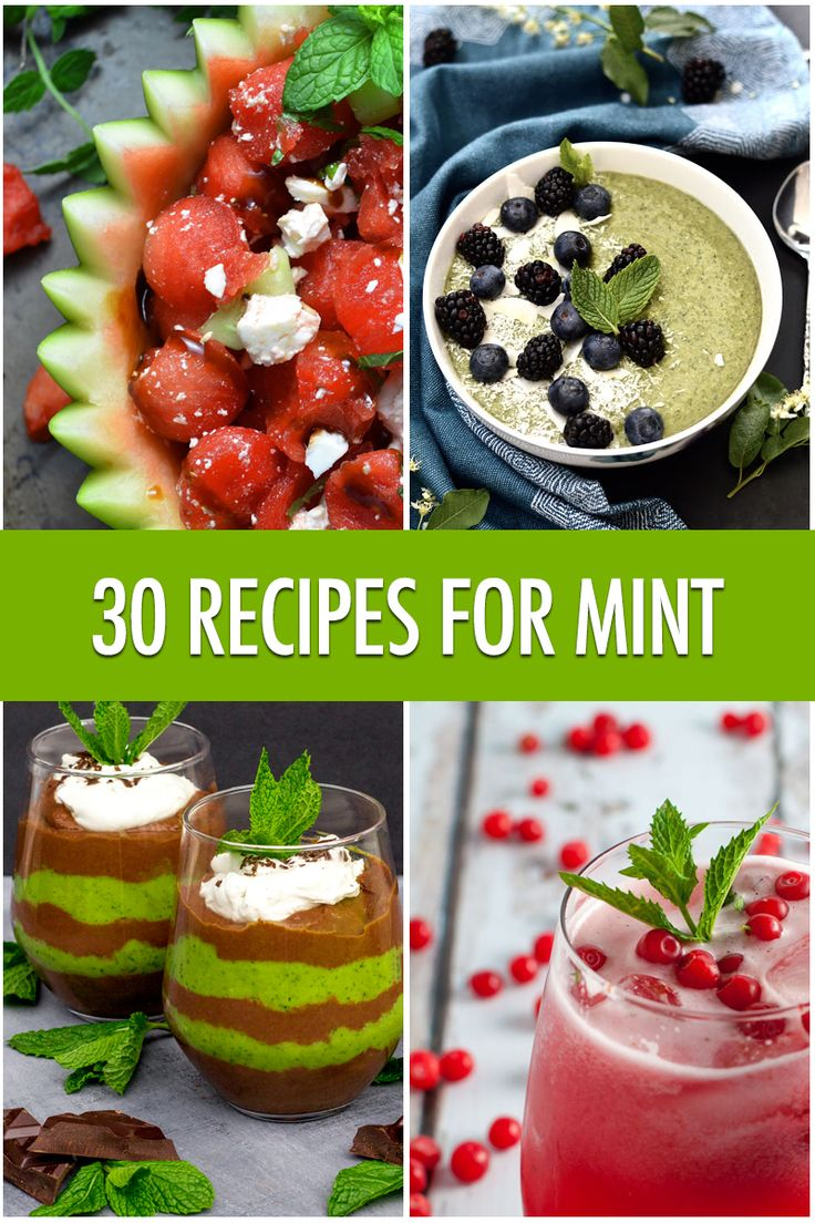 30 Ways to Use Mint | Food Bloggers of Canada