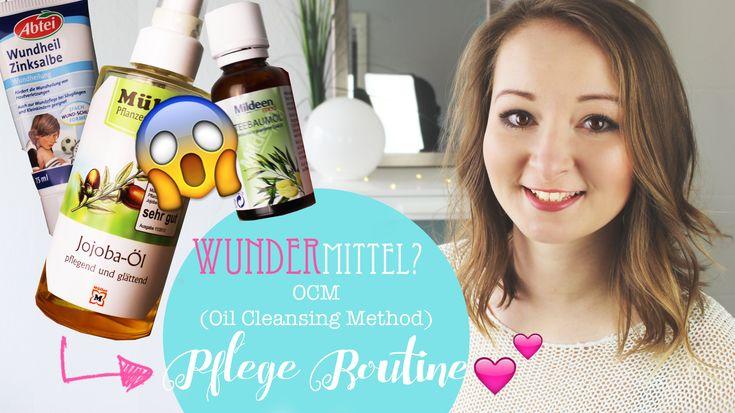Oil Cleansing Method auf deutsch erklärt + Anwendung (Mit Jojobaöl, Teebaumöl und Zinksalbe!) Anti-PIckel Pflegeroutine :)