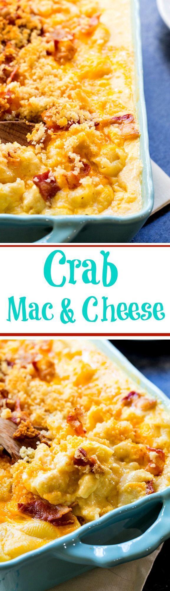 Crab Mac and Cheese | Recipe | Macs, Cheese and Pasta