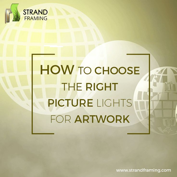 Want to know the right #Picturelight to showcase your amazing #Artwork? See this #GIF image and find the best advice. #Tipsoftheday