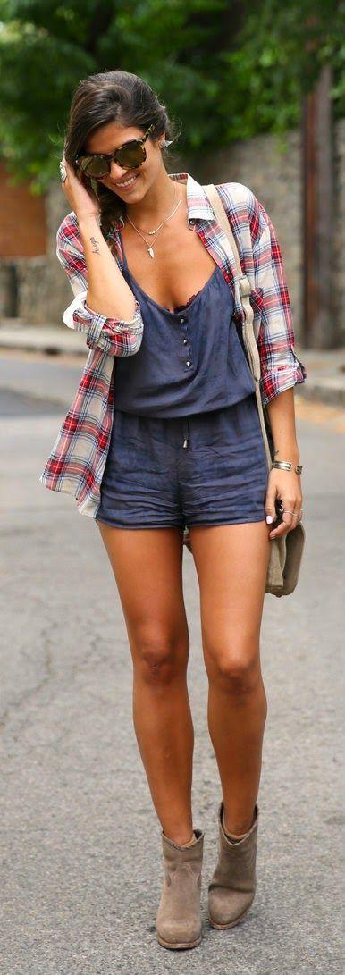 Everyday New Fashion: Chic Plaid by TrendyTaste