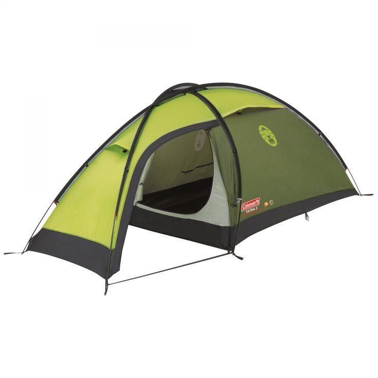 Coleman Zelt Tatra 2| Dieses extrem windstabile, semigeodätische Zelt schützt zuverlässig vor Wind und Wetter und bietet gleichzeitig ausreichend Platz. Das Zelt verfügt über hochwertige Materialien, wie z. B. Aluminiumgestänge und Nylonboden. Für ein Maximum an Flexibilität und Schutz sowie beste Lüftung ist die Apside beidseitig zu öffnen. Packmaß: 46 x 15 cm, 3,4 kg