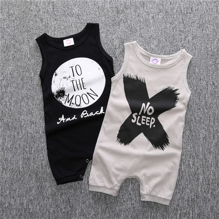2016 Newborn Baby Clothes One Pieces Baby Romper Infant Boys Girls Sleeveless Jumpsuits Clothing Baby Rompers