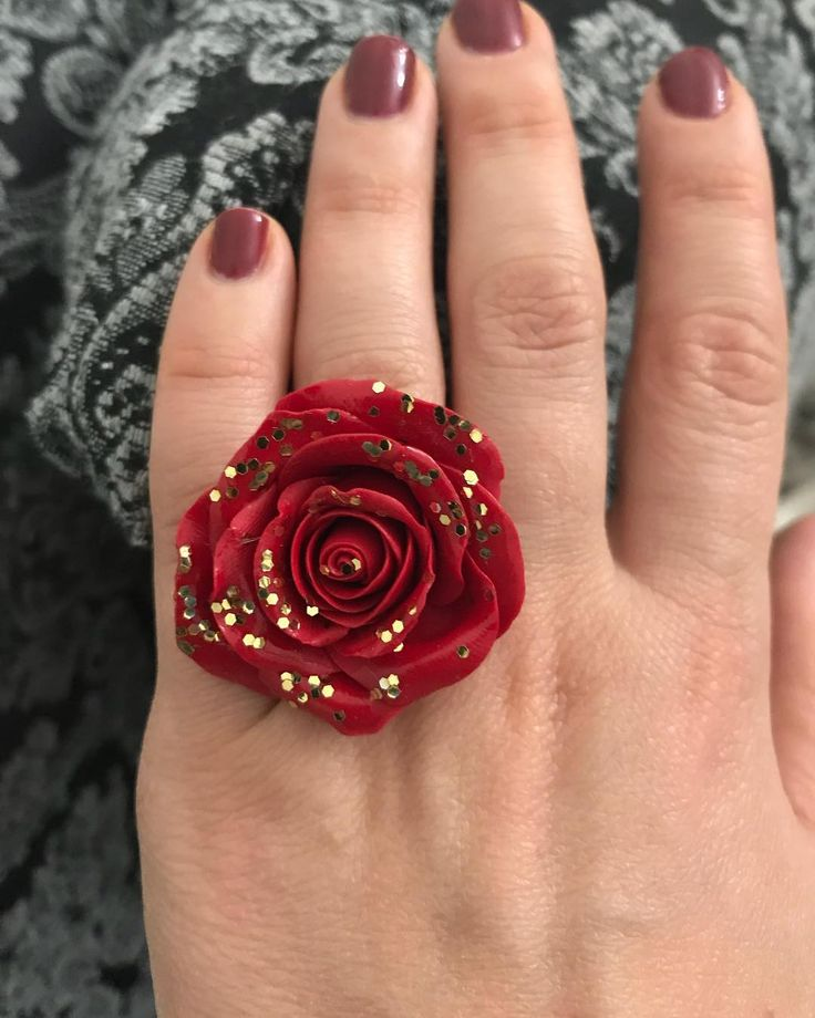 10 ring  #agapeartbya #handmade #onlyforyou #specialoccasion #blackfriday #rose #ring #red