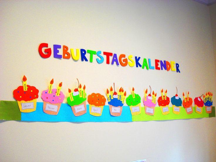 sala de clases: Calendario de Cumpleaños | Ideas para la sala de