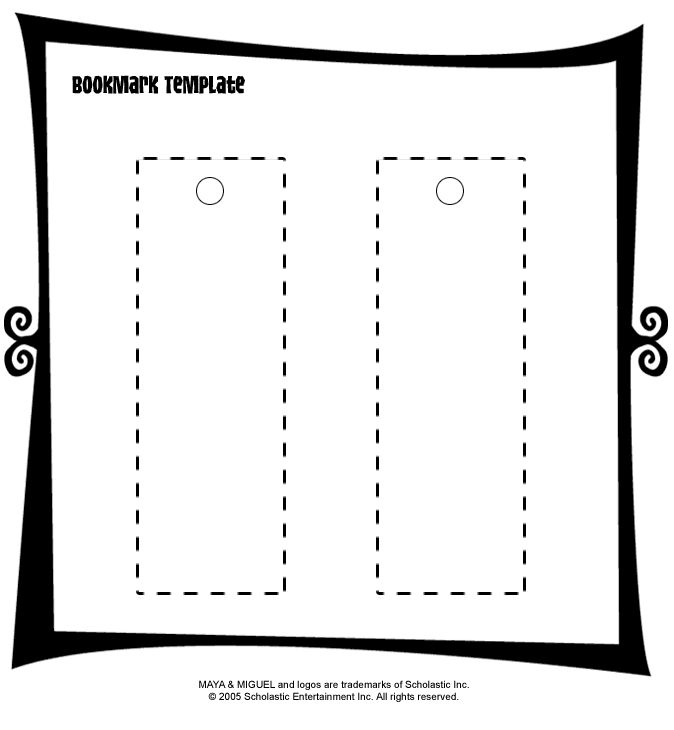 The  Best Bookmark Template Ideas On   Coloring