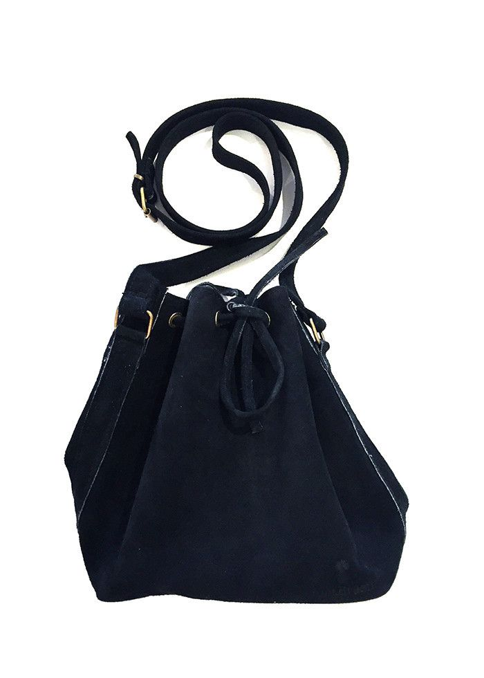 POUCH BLACK SWEDE BAG