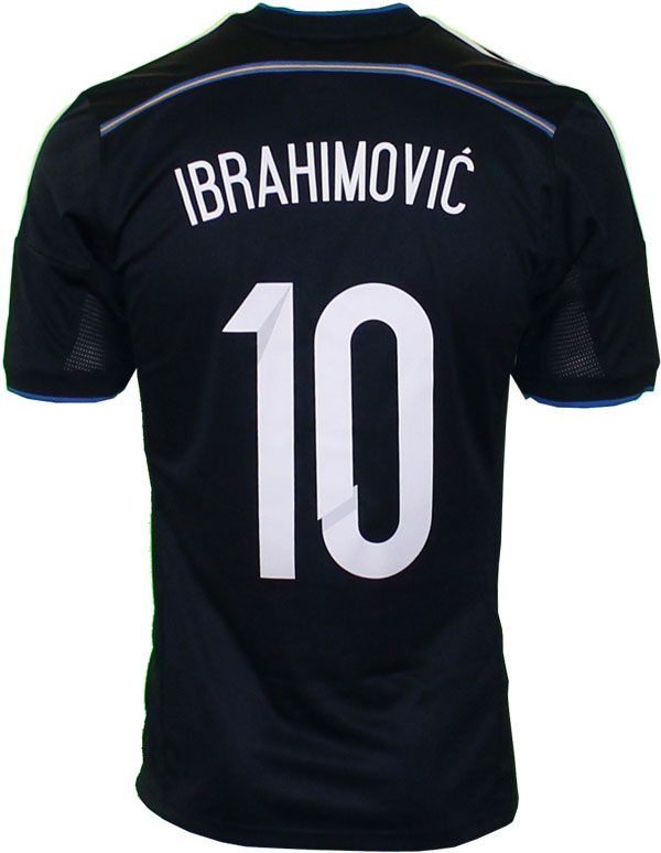 Sweden away jersey Ibrahimovic' 10