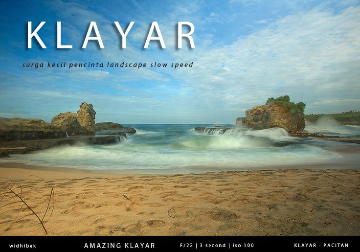 Amazing klayar beach