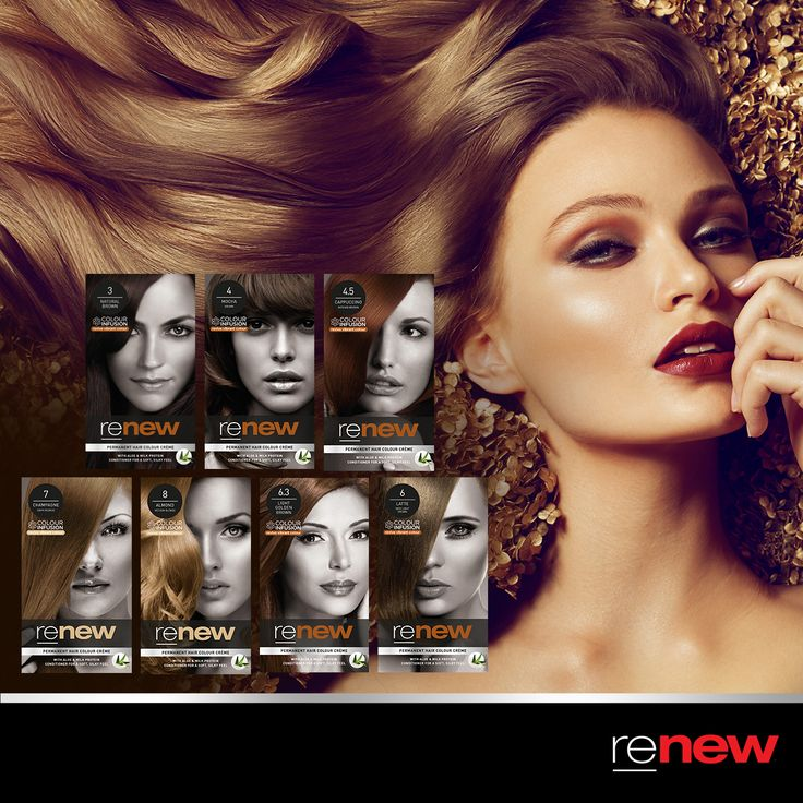 Renew brown shades are all about luxurious shine and style.