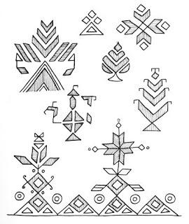 Indian Folk Designs: ~ Folk Designs from Punjab ~