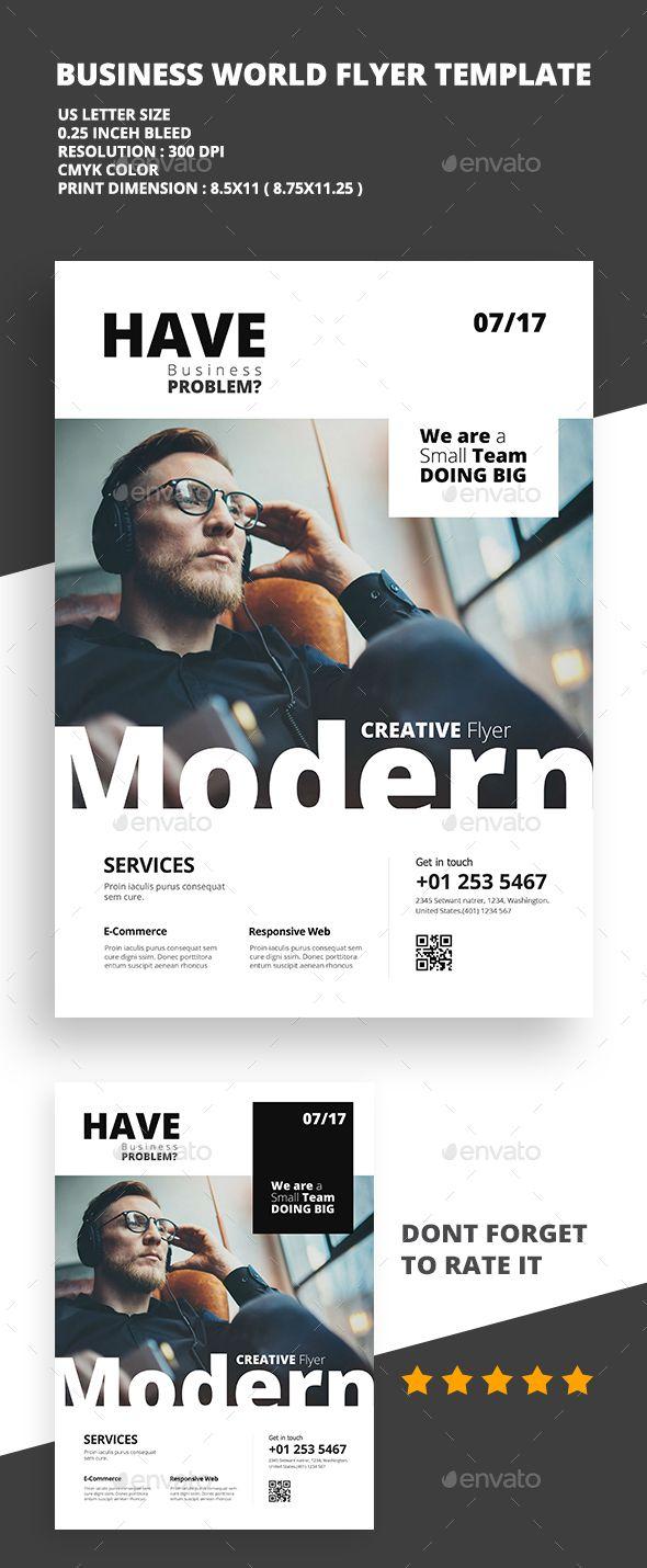 Modern Creative #Flyer 01 - Flyers Print Templates