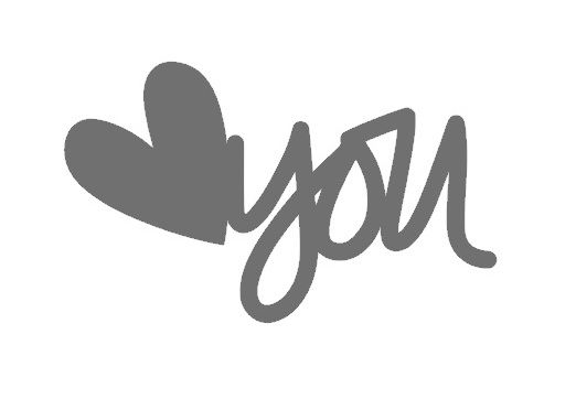 Free 'heart you' cut file - by Jennifer Chapin #Silhouette #CutFile