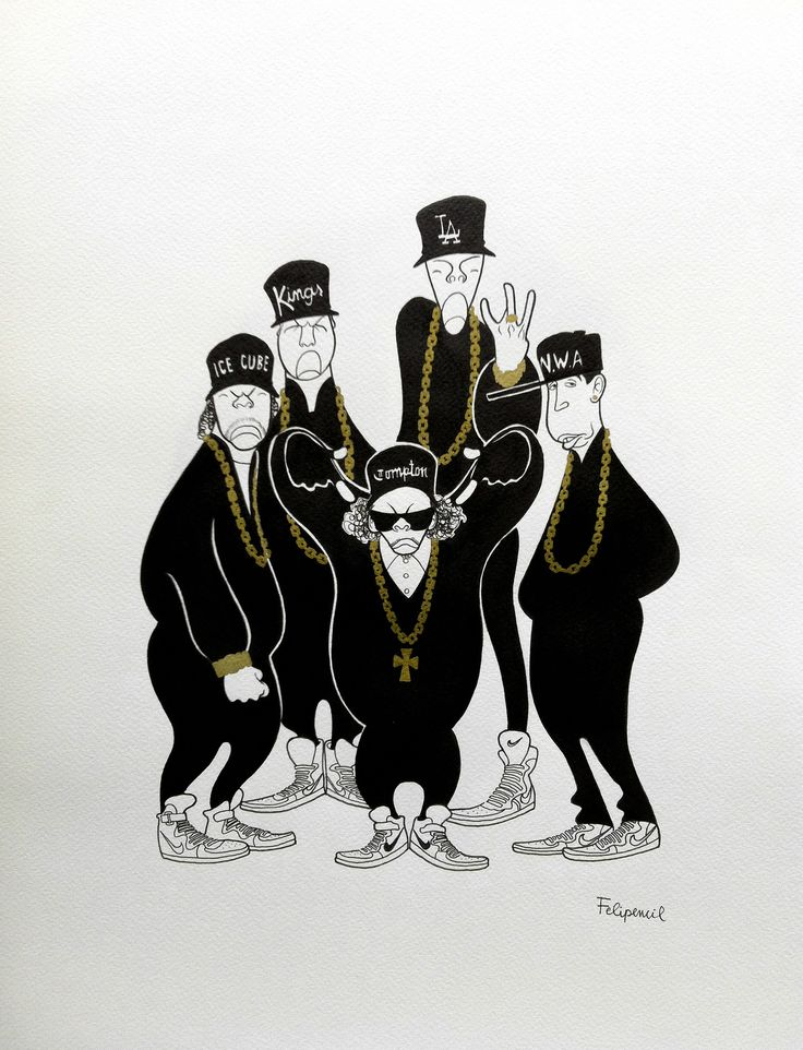 N.W.A | Dj and Straight outta compton