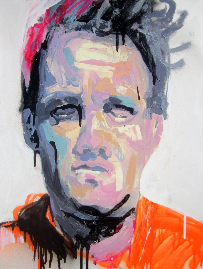 Self portrait by Andy Quilty