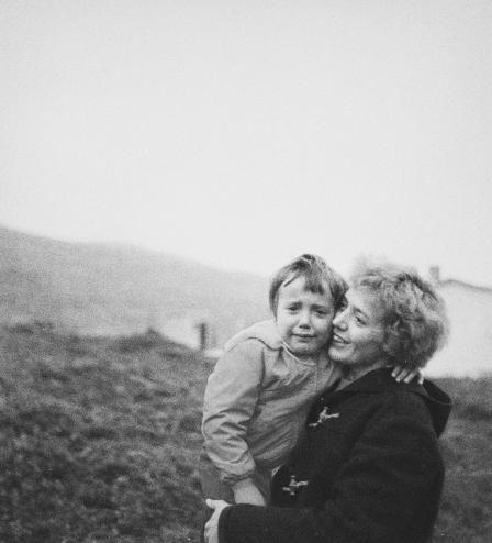 Foto: Kåre Kivijärvi, antagelig Finnmark omkring 1957-58. Tilhører Nasjonalbiblioteket. Digital bearbeiding ved Paul Jacobsen/Nasjonalbiblioteket.
