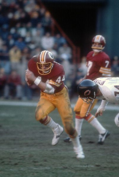 Rb John Riggins of the Washington Redskins 1978