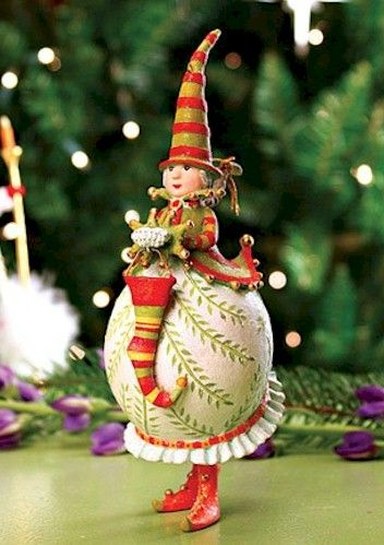 Krinkles Christmas Ornaments by Patience Brewster at Fiddlesticks