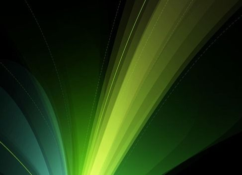 Abstract Green Design Art Background Vector Illustration