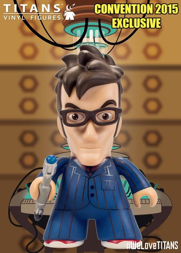 Titan Merchandise NYCC Exclusives: Tenth Doctor 4.5 Time Crash Variant – this is the mini episode that Doctor Who did for Children in Need where the Fifth and Tenth Doctor meet.