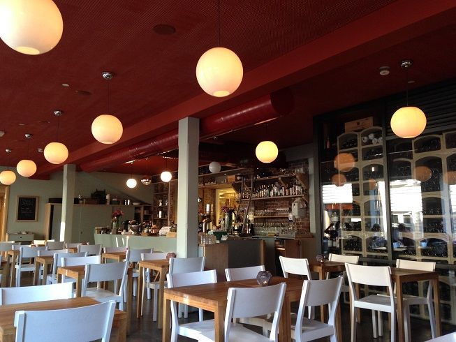 Colonialen has a café at the front and a brasserie at the back – both with fantastic food!