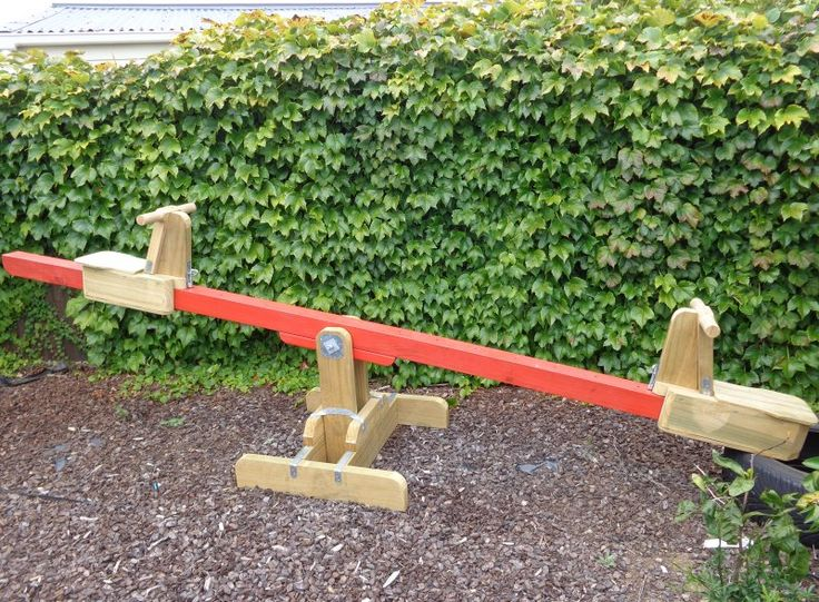 seesaw with adjustable seats