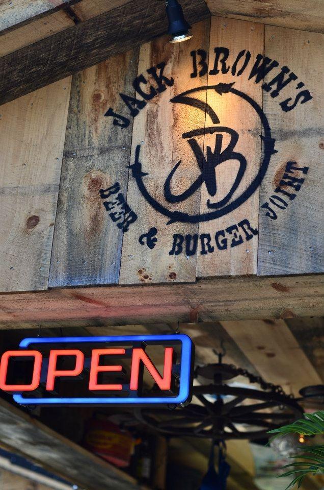 Jack Brown's Beer and Burger Joint Trailer near Massanutten Resort. #dbe #jackbrowns
