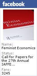 Feminist Economics -  Peer Reviewed Journal