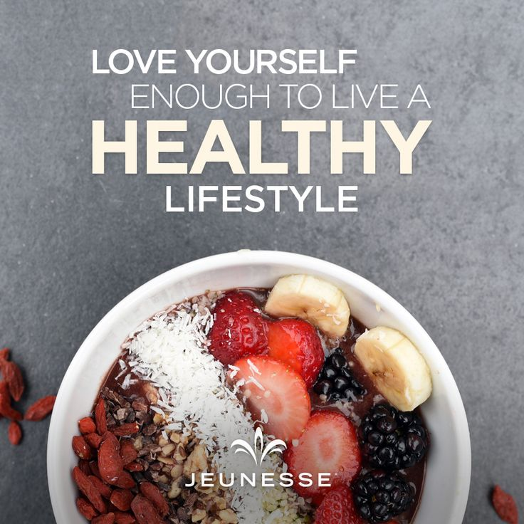 how to live a healthy lifestyle speech