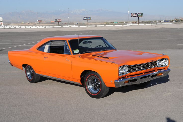 1968 PLYMOUTH ROAD RUNNER  a