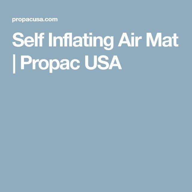 Self Inflating Air Mat | Propac USA
