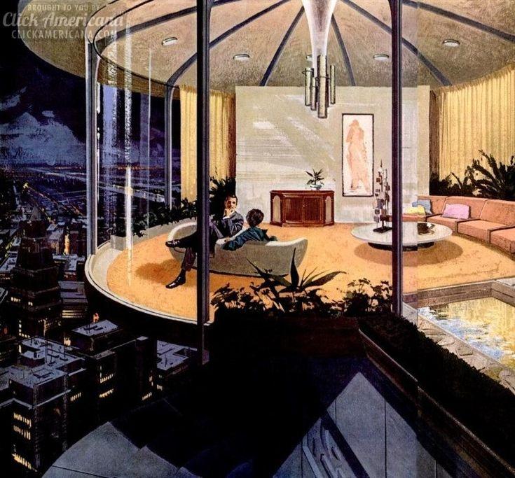 Futuristic Home Decor: 110 Best Vintage & Retro Home Decor Images On Pinterest