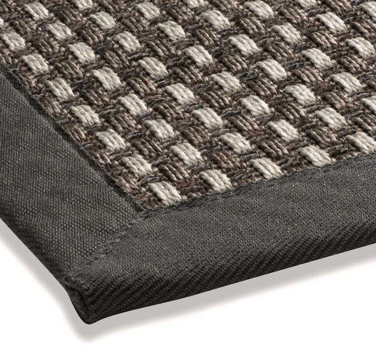 DeKowe - Naturino Panama Anthracite Bespoke Rugs | Modern Rugs