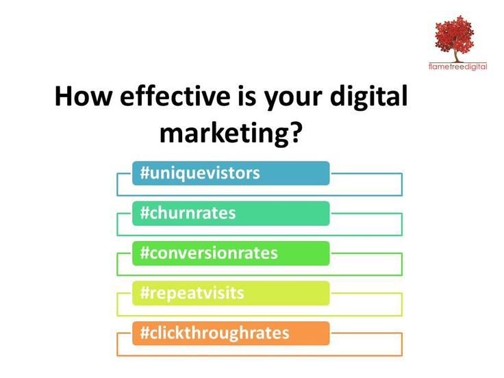 How effective is your digital marketing? What key performance indicators do you have in place? The Flame Tree Digital AUDIT examines where you are today and will include recommendations from the findings of our audit.