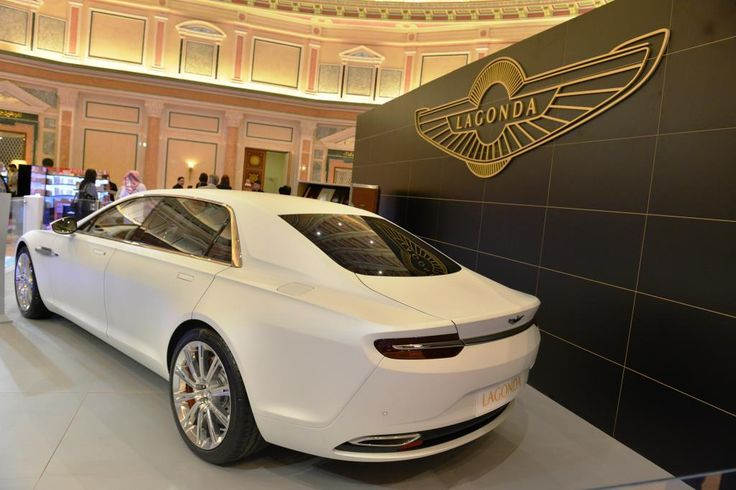 "The new Aston Marton ""Lagonda Tawaf"" was launched at American Express World Luxury Expo - Riyadh"