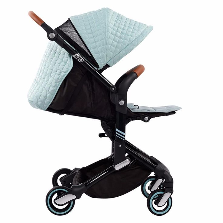 Babysing High Landscape Portable Lightweight Foldable Baby Prams - The Lavender Lilac