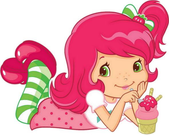 Charlotte aux Fraises : tube - Strawberry Shortcake png