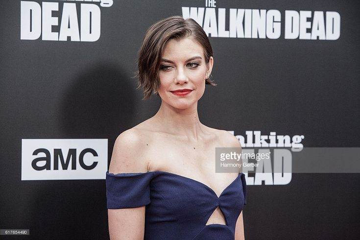 Lauren Cohan arrives at AMC presents live, 90-minute special edition of 'Talking Dead' at Hollywood Forever on October 23, 2016 in Hollywood, California.