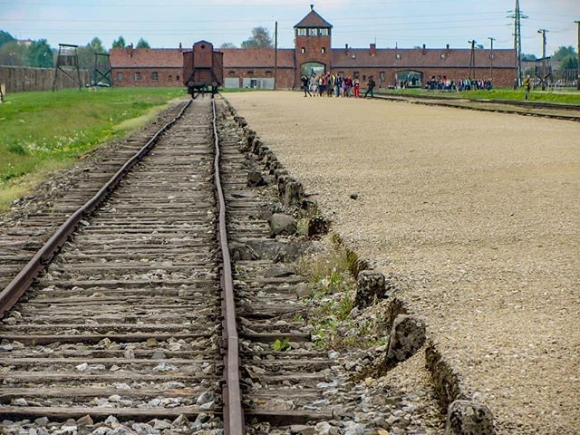 Auschwitz II-Birkenau. The unloading and selection platform from May 1944. Hundreds of thousands of Jews - mainly Hungarian - arrived here and were sentenced here to death in gas chambers by SS doctors. --- Photo by @patrickv_fotografie --- #Auschwitz #Birkenau #AuschwitzMemorial #history #Holocaust #Shoah #Jews #people #tragedy #selection #genocide #concentrationcamp #unloading #doctors #memory #UNESCO #worldheritage #worldHeritagelist